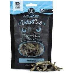 Vital Essentials Minnows Freeze-Dried Pet Treats, 0.5-oz Bag SKU 3321100555