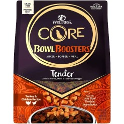 Wellness CORE Bowl Boosters Tender Turkey & Chicken Recipe Grain-Free Dog Food SKU 7634488508