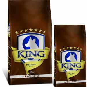 king plus adult dog food