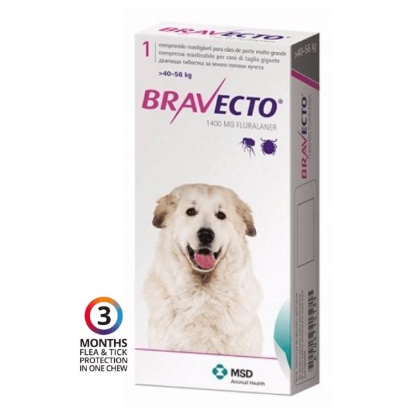 Petstore Kenya Nairobi Bravecto Dog Flea Tick Chew Fluaraner 40kg 56kg (c)