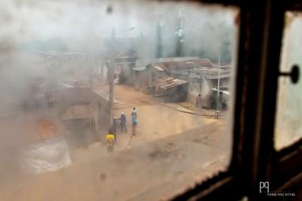 Vue depuis la vieille mosquée. // Porto-Novo - 2013