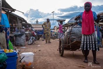 Fin de journée au marché. // Kérou - 2019