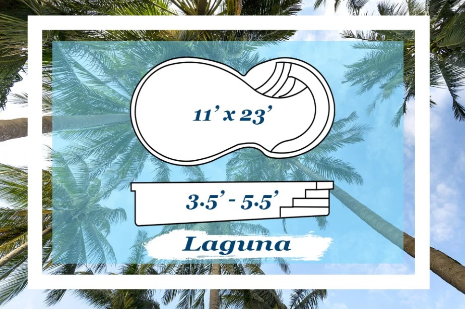The Laguna Pettit Fiberglass Pool