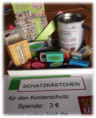 Schatzkästchen Spendenaktion 2014