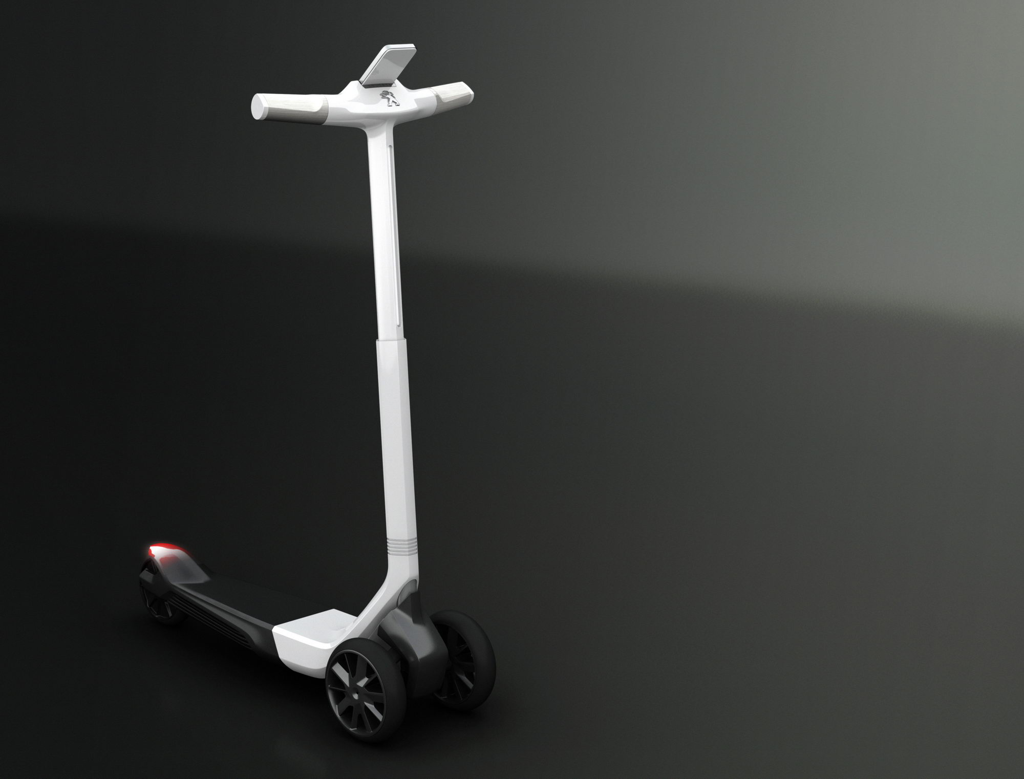 Peugeot Electric Scooter Concept Transportation