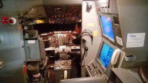 Simulateur de vol de Boeing 737 sur vérins agréé par la DGAC sur lequel le CTPA organise des stages contre la peur de l'avion