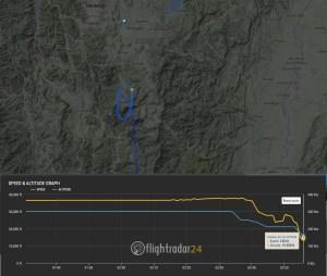 Alors qu'il se trouve à une 50aine de km de l'aéroport, l'avion se met en circuit d'attente, une situation tout à fait banale...