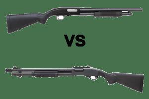 Mossberg 500 vs Remington 870