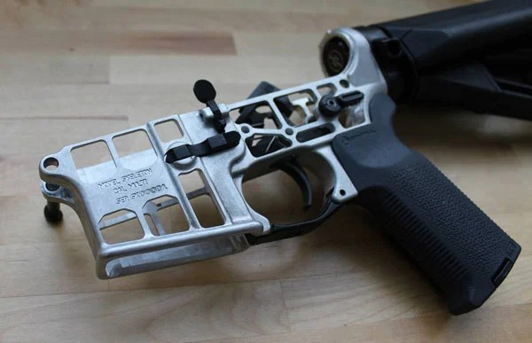 Skeletonized AR-15 Lower