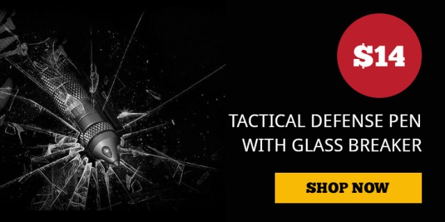 Tactical Defense Pen wt Glass Breaker at the Pew Pew Tactical Shop