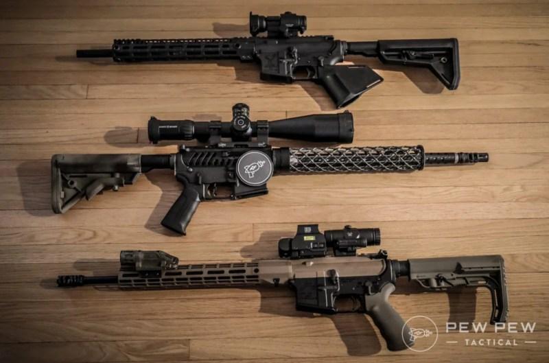 Pew Pew Upgraded AR-15s