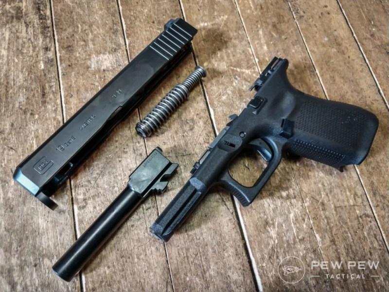 Glock G19 Broken Down