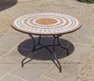 muebles de jardin de forja con mesa