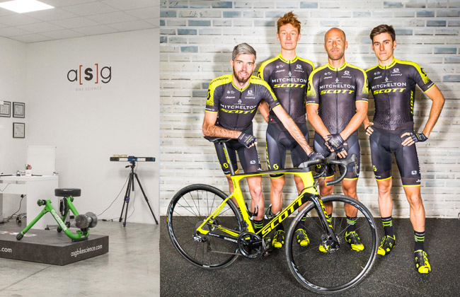Asg Bike Science Appointed Official Bike Fitter Of World