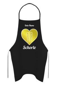 PFALZFANS Pfälzer Schorle-Weinfest-Barschürze Grillschürze SCHORLE