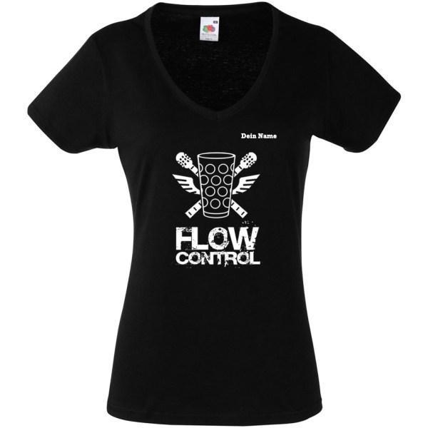 PFALZFANS Pfälzer Schorle-Weinfest-T-Shirt FLOW CONTROL