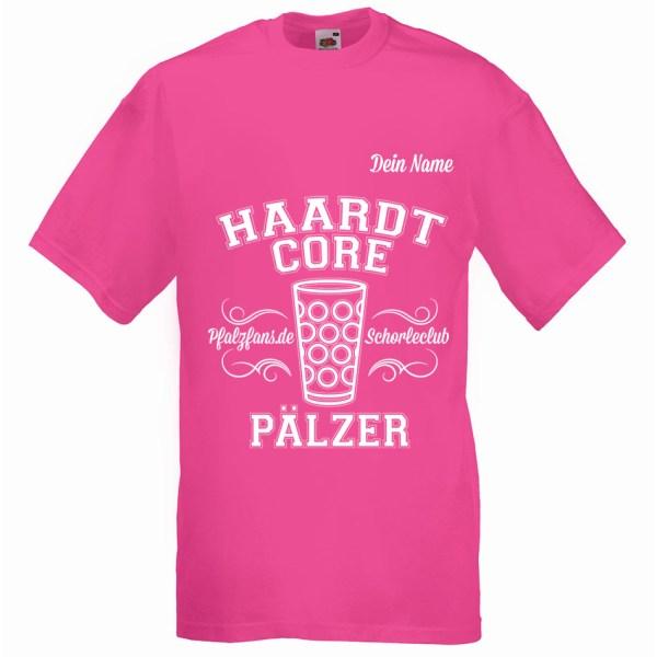 PFALZFANS Pfälzer Schorle-Weinfest-T-Shirt HAARDTCORE PÄLZER