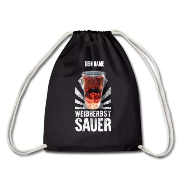 PFALZFANS Pfälzer Schorle-Weinfest-Turnbeutel Pälzer Schorlebeidel LIEBLINGSSCHORLE WEIßHERBST SAUER