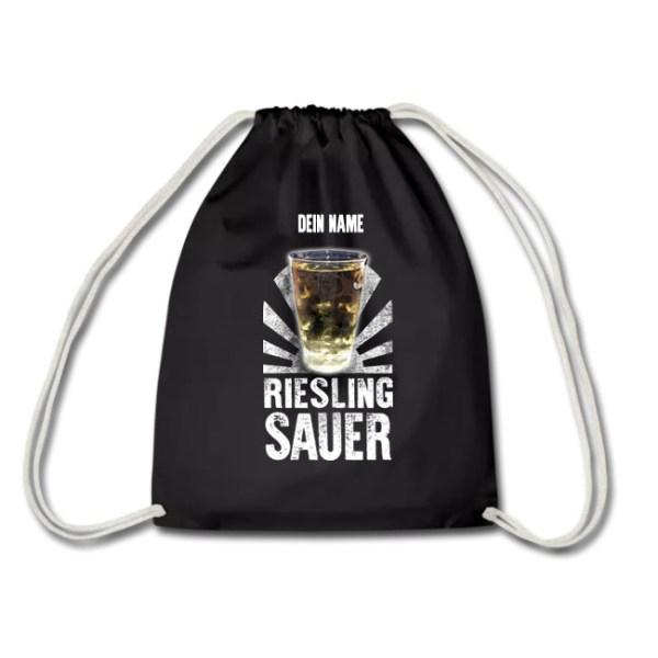 PFALZFANS Pfälzer Schorle-Weinfest-Turnbeutel Pälzer Schorlebeidel LIEBLINGSSCHORLE RIESLING SAUER