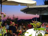Der Ausblick vom Restaurant