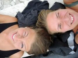 Corinna und ich die zweite