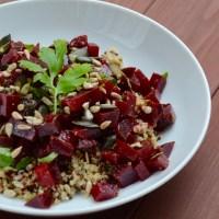 Rote Bete Quinoa Salat