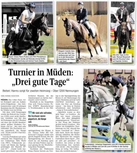 Aller Zeitung 13.06.2017
