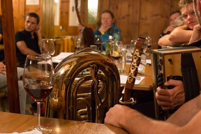Musik Abend auf der Nürnberger Hütte