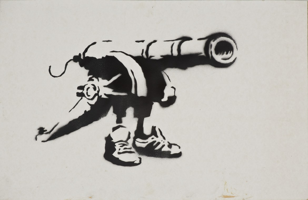 Banksy | Courtesy: Sammlung Reinking | Photo: Joachim Fliegner