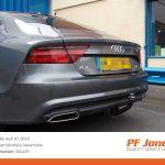 Audi A7 2010 Onwards Westfalia Detachable Towbar