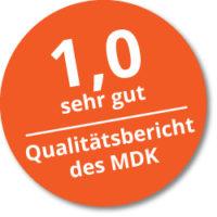 Button Qualitätsbericht MDK Schwalger Ambulante Pflege