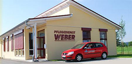 Pflegedienst Weber Aussenansicht Haus