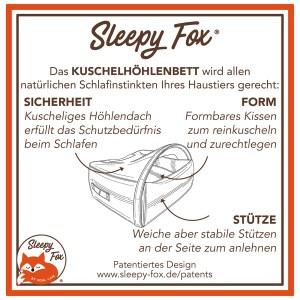 9. Sleepy Fox® Kuschelhöhlen Haustierbett - Schlafinstinkte Erfüllt DE.jpg