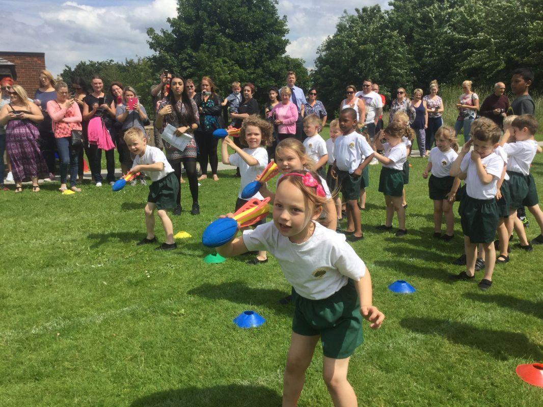 Reception Sports Festival June 2016 Parsonage Farm Primary School