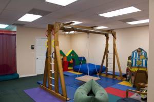 An image of the therapy gym - Play for Real Pediatric Occupational Therapy