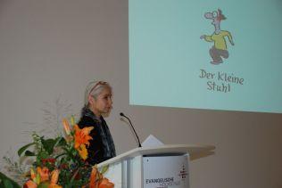Vortrag mit Cartoons von Renate Alf