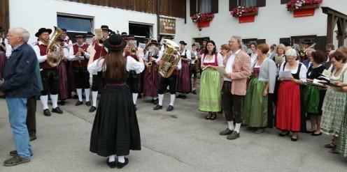 Musikkapelle und Kirchenchor Bertoldshofen