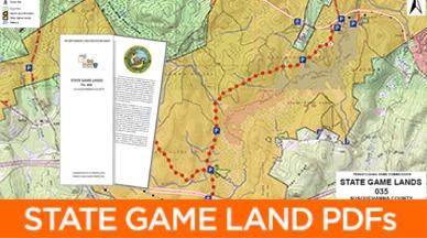 State Game Lands PDF Maps