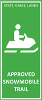 Approve Snowmobile Trail sign