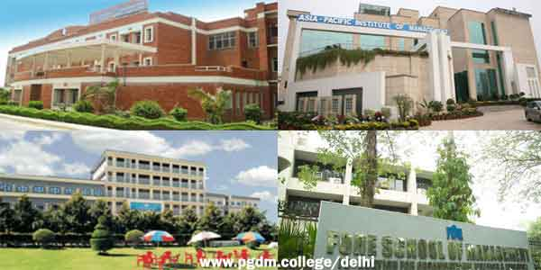 PGDM Colleges Delhi