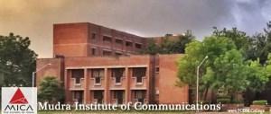 MICA Ahmedabad: Mudra Institute of Communications