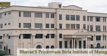 Bhavan'S Priyamvada Birla Institute of Management campus