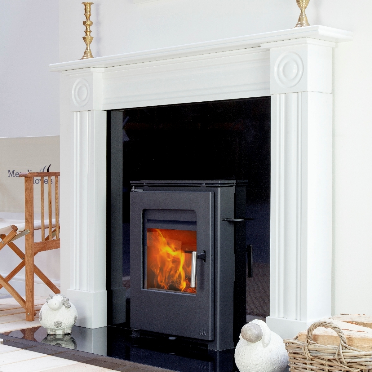 Burcott Inset Convection Multi Fuel And Wood Burning Stove