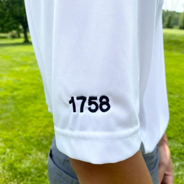 PGH White Golf Polo