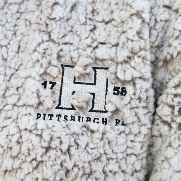 Zip Sherpa Pullover