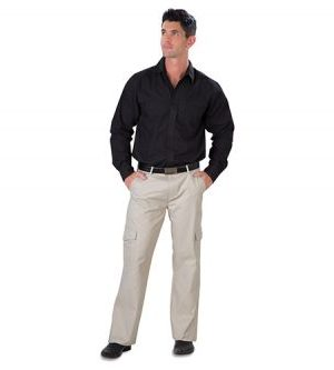 Gents Cargo Pants - Avail in: Black