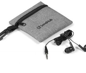 Echo Earbuds in Pouch