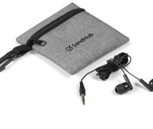 Echo Earbuds in Pouch