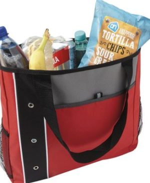 600D Shopper with Dual Mesh Side Pockets