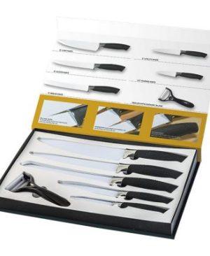 6 Piece Fully Customisable Knife Set